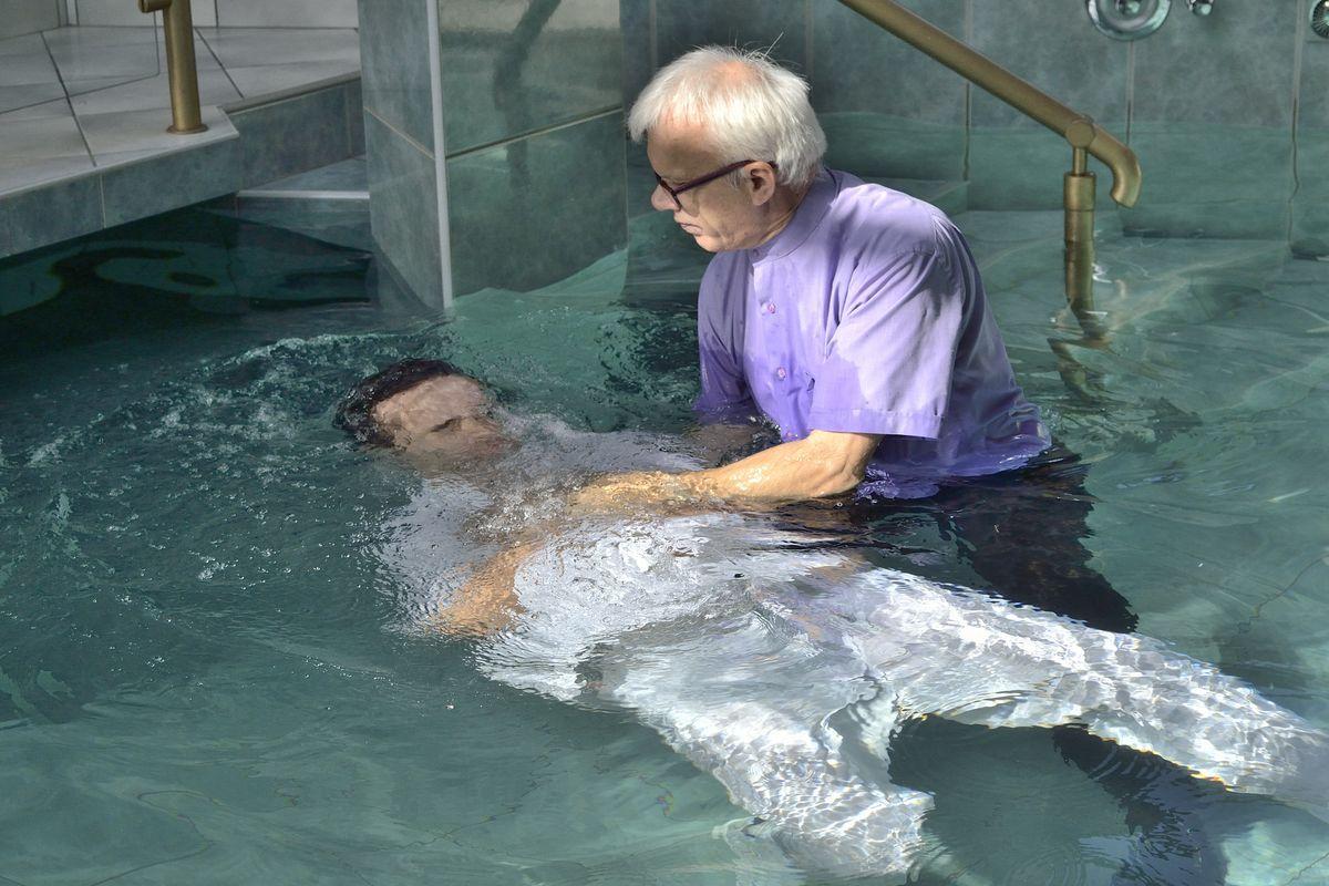 Nabożeństwo z chrztem